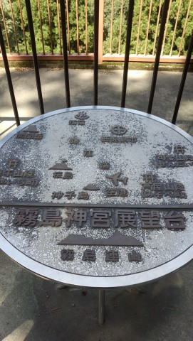 霧島神宮からの位置関係