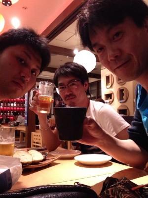 北海道ラスト乾杯♪